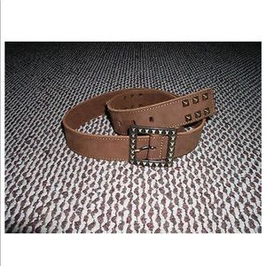 Other - PELLETTERIA 3 CORONE Brown Belt XL, made in Italy